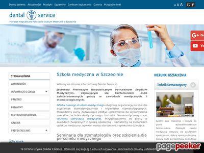 DENTAL SERVICE SP. Z O.O. SZCZECIN rejestratorka medyczna