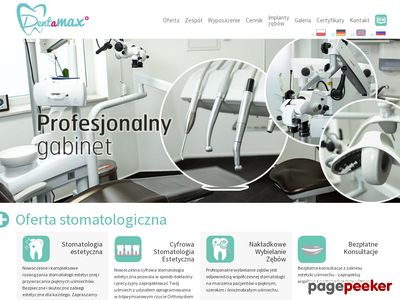 Dentysta - Dentamax Kraków