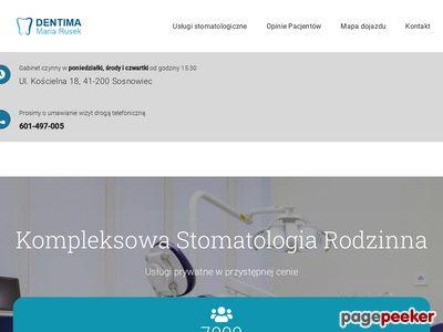 Stomatolog sosnowiec