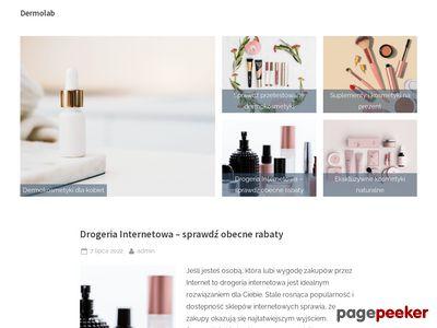Dermolab.pl drogeria internetowa z kosmetykami ekskluzywnymi