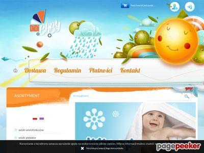 Sanki dla dzieci, wózki 3w1 Didibaby.pl