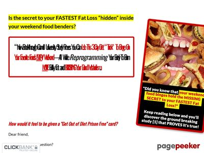 Diet Free Weekends by Mike Whitfield