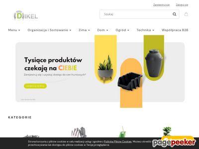 Sklep Dikel - pojemniki magazynowe, regały szufladkowe