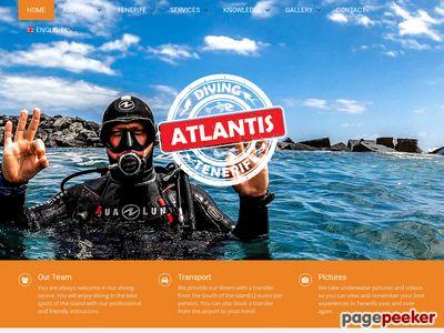 Diving Atlantis nurkowanie na Teneryfie