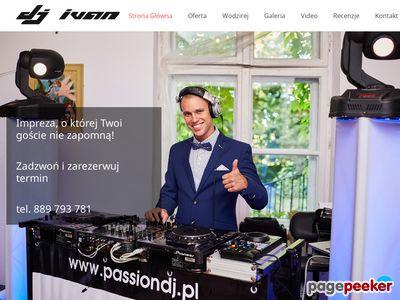 DJ Koszalin - DJ na imprezę, na wesela. Śluby, poprawiny