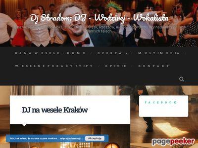 DJ Wodzirej z Krakowa na wesele i inne imprezy