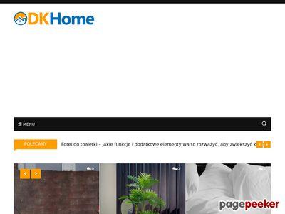 Karnisze ścienne metalowe DK Home