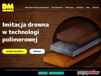 Pochwyty drewniane wykonasz z surowca DM System.