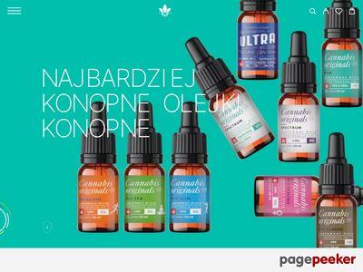 Olej konopny cbd - dobrekonopie.pl