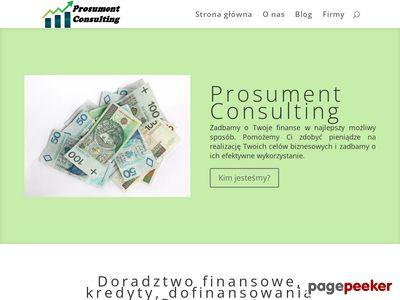 Wnioski Prosument
