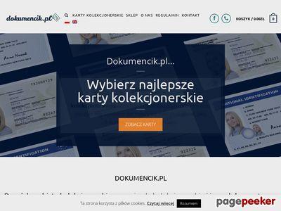 Dokumenciki.pl - dowód osobisty kolekcjonerski