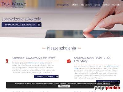 Dom Wiedzy - sale szkoleniowe w Warszawie