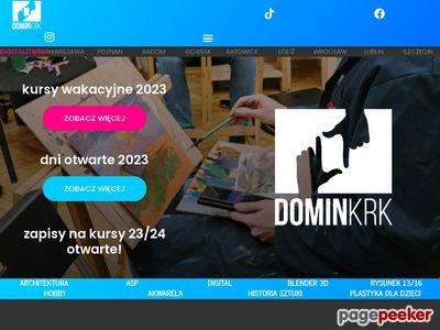 Kurs rysunku architektonicznego Domin Kraków