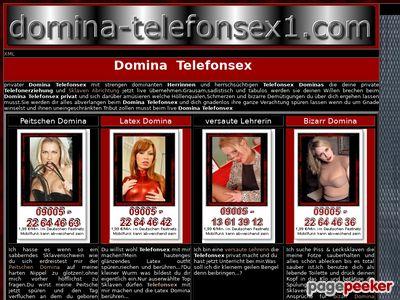 Détails : Telefonsex mit Dominas