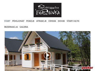 Dom nad potokiem Borszówka