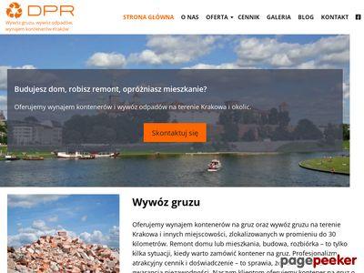 Kontener na śmieci - DPR