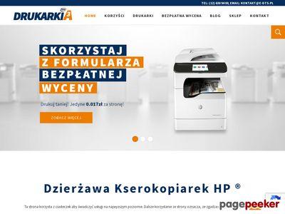 DrukarkiA3 - dzierżawa kserokopiarek