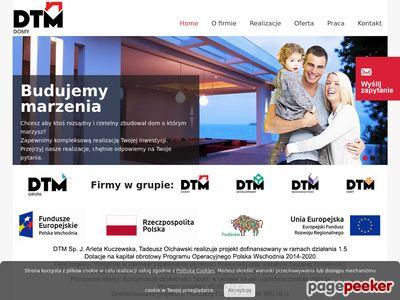 Budowa domu dtmdomy.pl