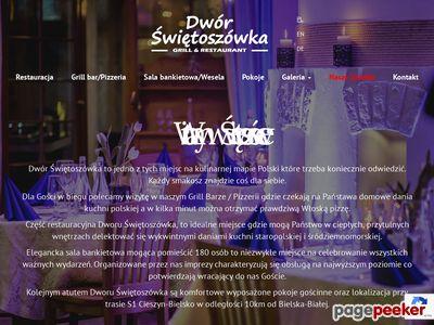 Dwór Świętoszówka - Nowa Restauracja, Bielsko