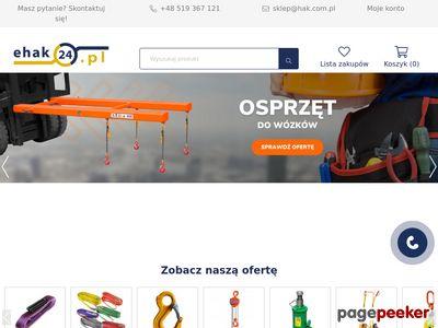 Sklep z wciągarkami - E-HAK24.pl