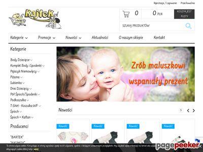 E-kajtek.pl - Sklep internetowy z ubrankami dla dzieci i niemowląt.