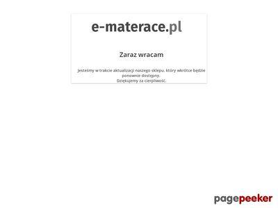 E-materace.pl Tomasz Piotrowicz