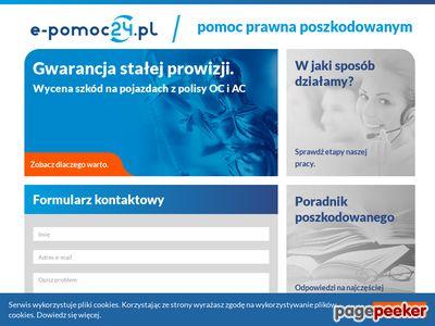 Odszkodowania powypadkowe - E-Pomoc24.pl