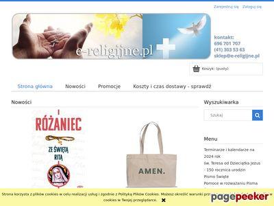 Sklep z dewocjonaliami e-religijne.pl