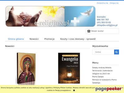 Katolicki sklep internetowy e-religijne