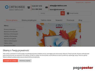 E-tablice.com – Sprzęt do prezentacji