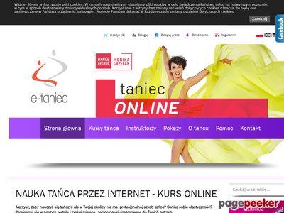 Kurs tańca online