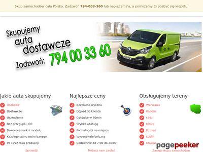 Skup samochodów Kielce, Radom, Lublin
