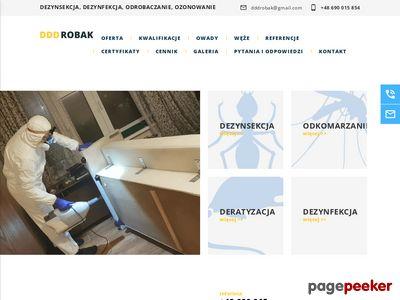 Dezynsekcja Zwalczanie insektów pluskwy edddrobak.pl