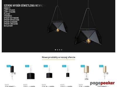 Edisonlighting.pl - lampy do salonu