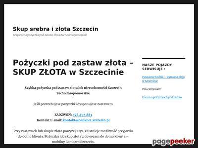 Skup złota Szczecin