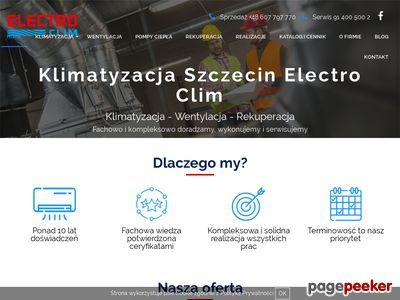 Electro-clim.com.pl - montaż klimatyzacji w Szczecinie