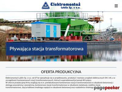 Rozdzielnice SN http://elektromontaz-lublin.pl