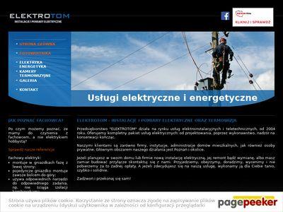 ELEKTROTOM - Instalacje elektryczne pomiary termowizja