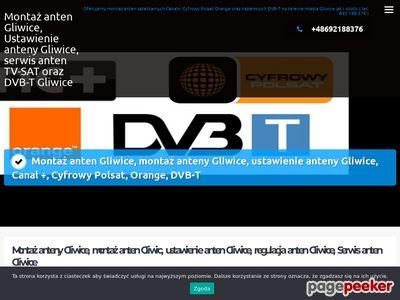 Montaż anten TV-SAT cyfrowy polsat - Cyfra plus