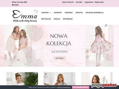 Niepowtarzalne sukienki dla dziewczynek