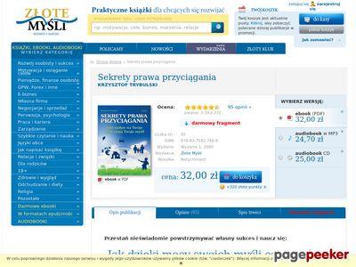 Sekrety prawa przyciągania, pozytywne emocje - Krzysztof Trybulski