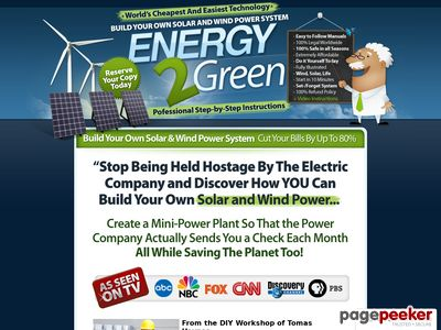 Build Your Own Wind And Solar Power System – Energy 2 Green