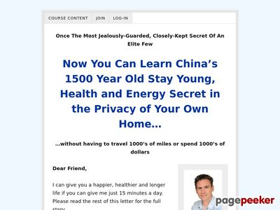 Qigong Secrets Home Study Course