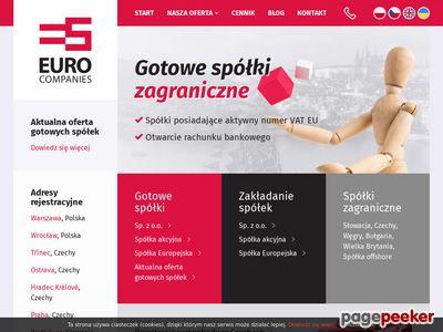 Eurocompanies.pl rejestracja spółki