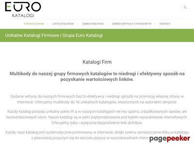 Unikalne Katalogi Stron | Grupa EuroKatalogi.pl