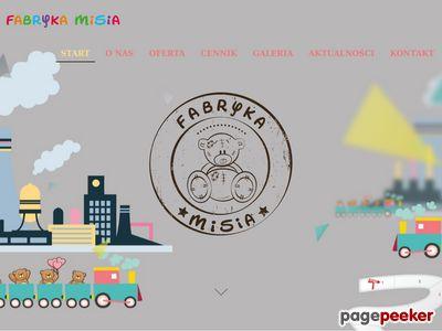 Centrum zabaw Białystok Fabryka Misia
