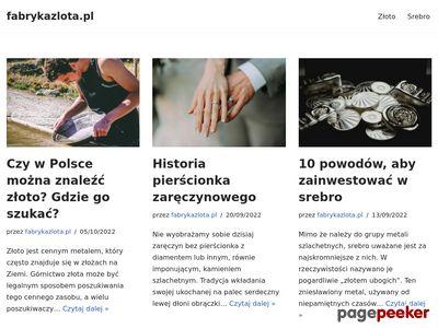 Sprzedaż złota - Fabryka Złota