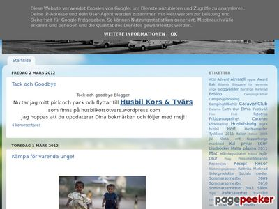 Kors & Tvärs - http://fajersson.blogspot.com