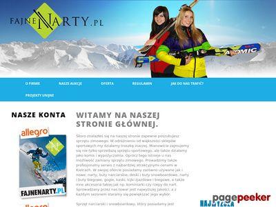 Komis z używanymi nartami biegowymi w Kielcach