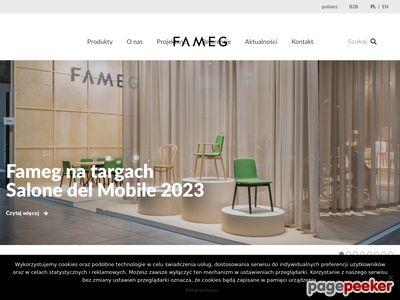 Http://fameg.pl producent mebli giętych